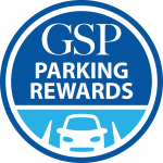 GSP Parking Rewards logo